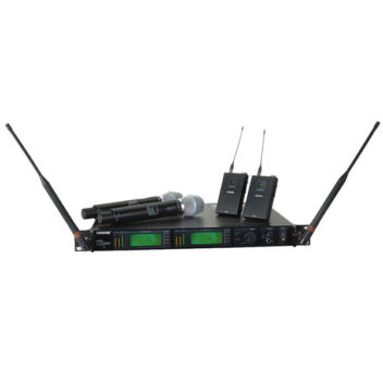 Shure-UHFR-Dual-Wireless-Microphone